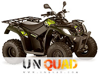 Quad Kymco MXU 300 US Green Line